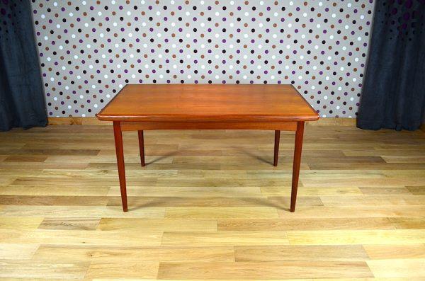 Table Danoise en Teck Vintage 1960 Dyrlund