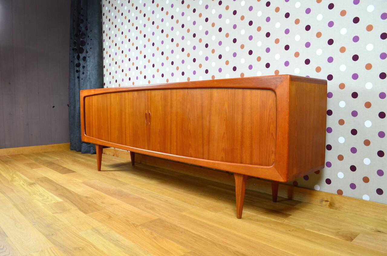 enfilade danoise en teck b pedersen vintage 1965. Black Bedroom Furniture Sets. Home Design Ideas