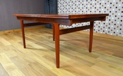 Table Scandinave en Teck Vintage H. Kjaernulf 1965