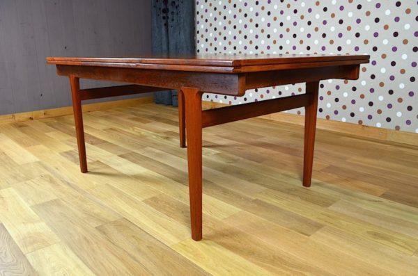 Table Scandinave en Teck Vintage H. Kjaernulf 1965
