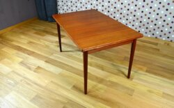 Table Scandinave en Teck N. Jonsson Vintage 1968