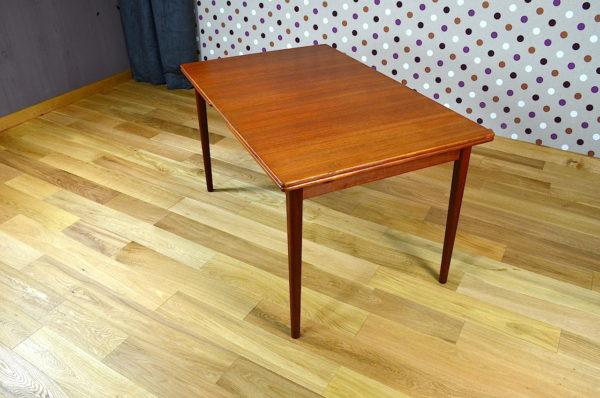 Table Scandinave en Teck N. Jonsson Vintage 1968