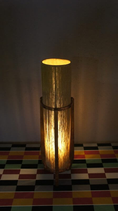 lampe tripode scandinave design vintage 1960. Black Bedroom Furniture Sets. Home Design Ideas