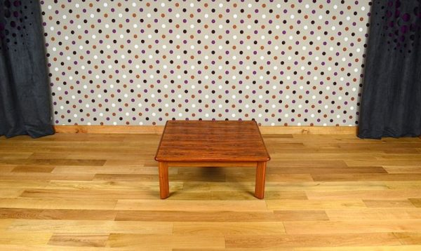 Table Basse de Salon Scandinave en Palissandre de Rio Vintage 1960