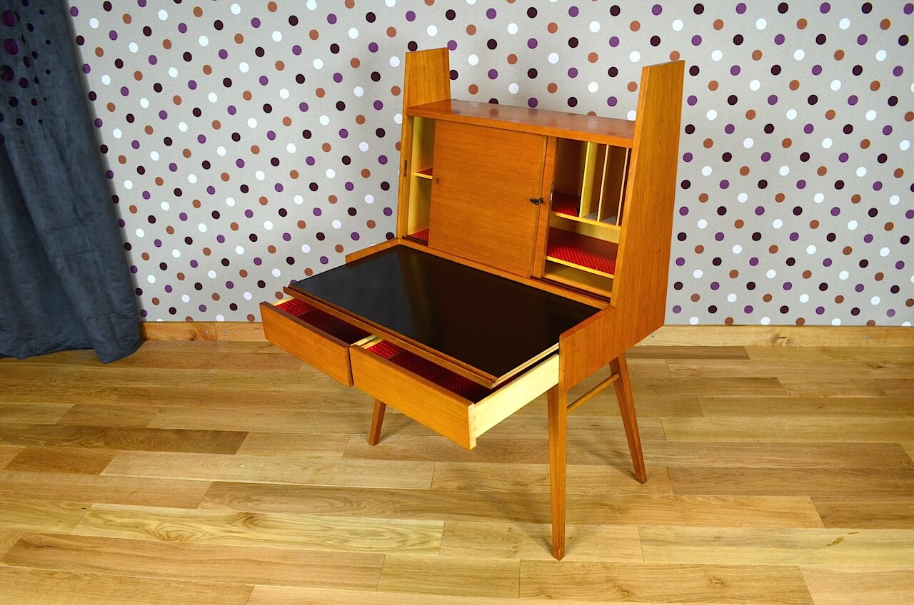 secr taire design scandinave wilhelm renz vintage 1955 vendu. Black Bedroom Furniture Sets. Home Design Ideas