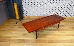 Table Basse Danoise en Teck Grete Jalk Edition Jeppesen Vintage 1959