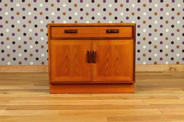 meuble teck vintage 2 portes