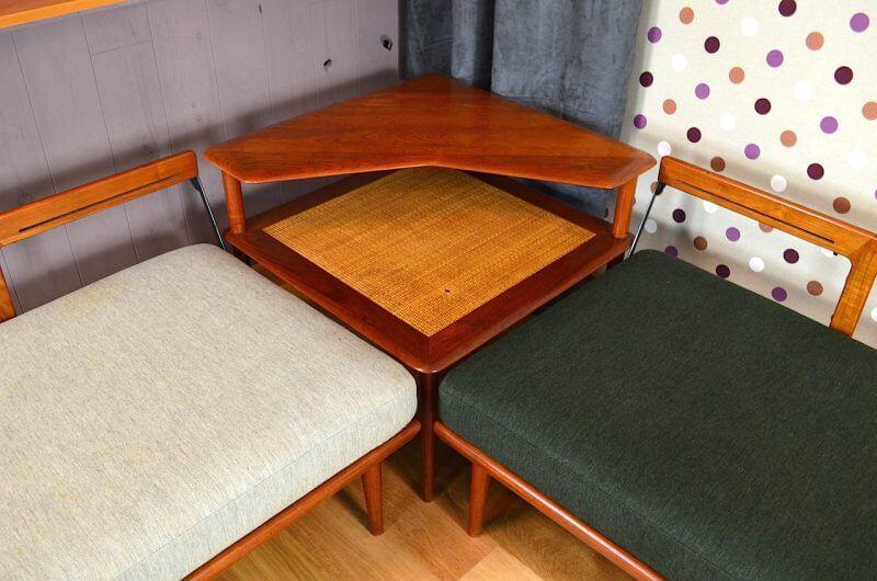 Daybed D 39 Angle Table Basse De Peter Hvidt Design Danois Vintage 1960 Design Vintage Avenue