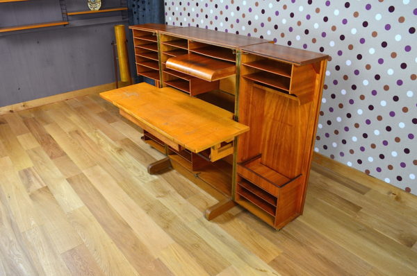 "Bureau Malle ""Magic Box"" Design Scandinave Vintage 1960"