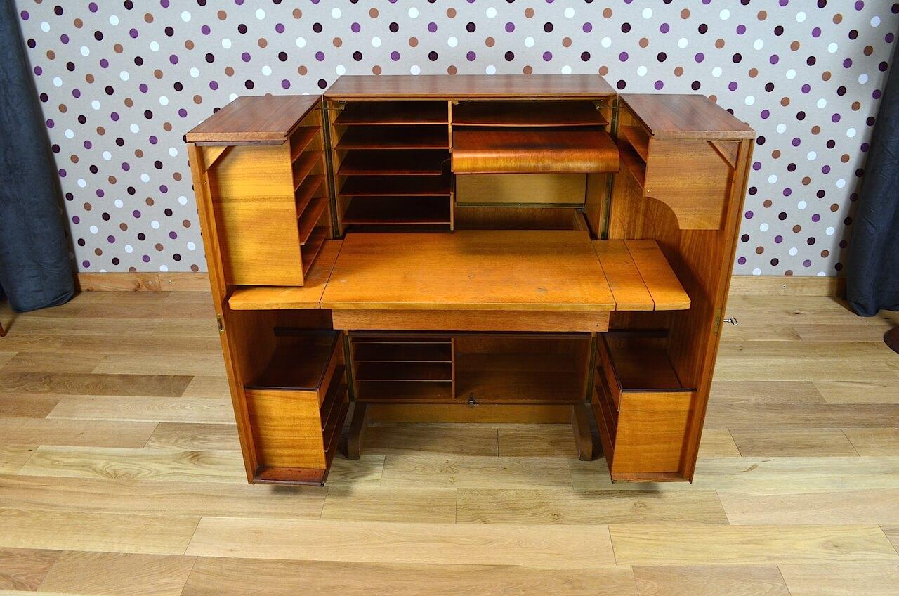 bureau malle magic box design scandinave vintage 1960 design vintage avenue. Black Bedroom Furniture Sets. Home Design Ideas