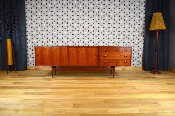 Enfilade Design Scandinave en Teck Fristho Vintage 1960