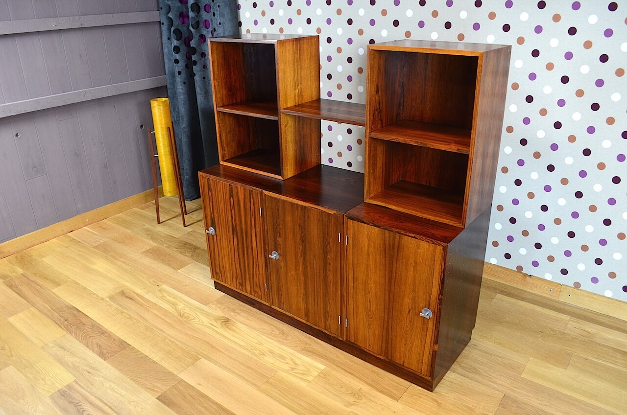 meuble danois finn juhl en palissandre de rio france son vintage 1966 13 0430. Black Bedroom Furniture Sets. Home Design Ideas