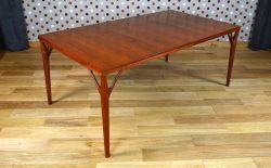 Grande Table Danoise en Teck H Vestergaard Jensen Vintage 1957