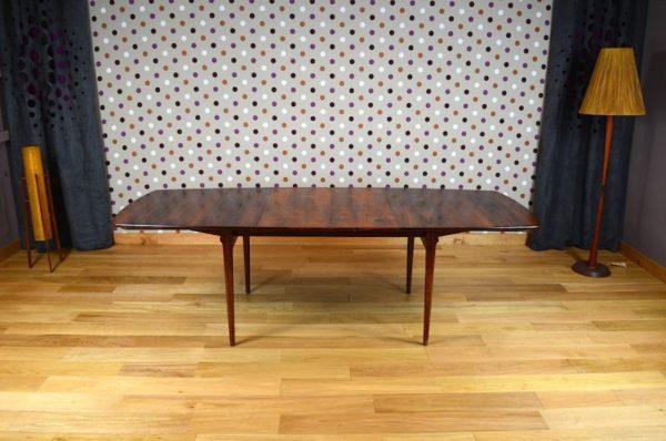 Table Design Scandinave en Palissandre de Rio Fristho Vintage 1960