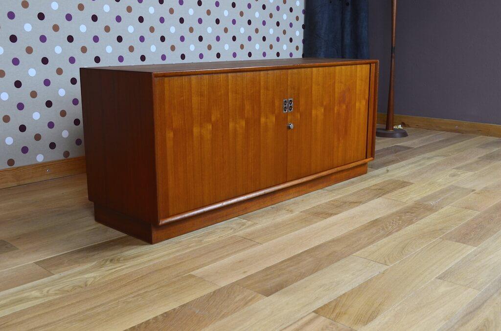 Enfilade basse scandinave en teck vintage 1960 sibast arne vodder - Le meuble scandinave ...