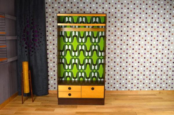 Meuble Vestiaire Design Vintage Rétro Année 1970