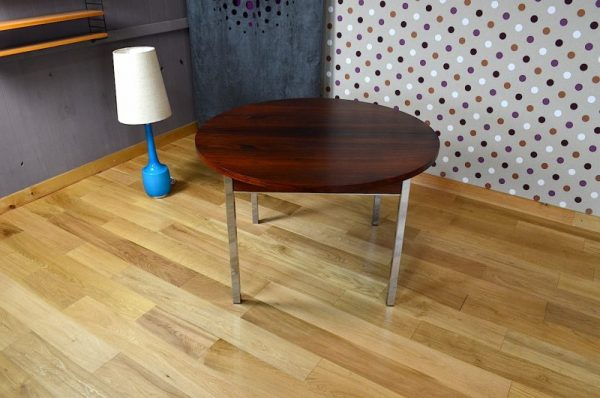 Table de Pierre Guariche en Palissandre de Rio Vintage 1960