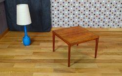 Table Basse Danoise en Teck H. Kjaernulf Vintage 1966