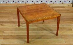 Table Basse Scandinave Henning Kjaernulf Vintage 1960