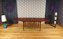 Table Design Scandinave en Teck Fristho Vintage 1960