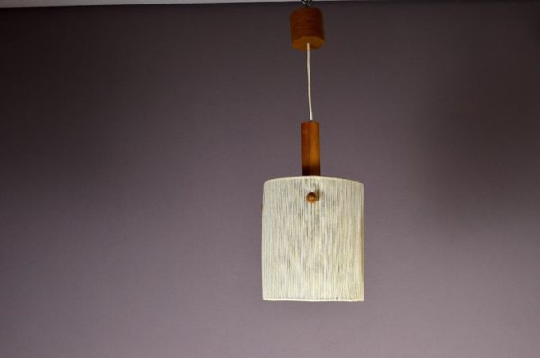 Suspension Design Scandinave en Teck Vintage 1960