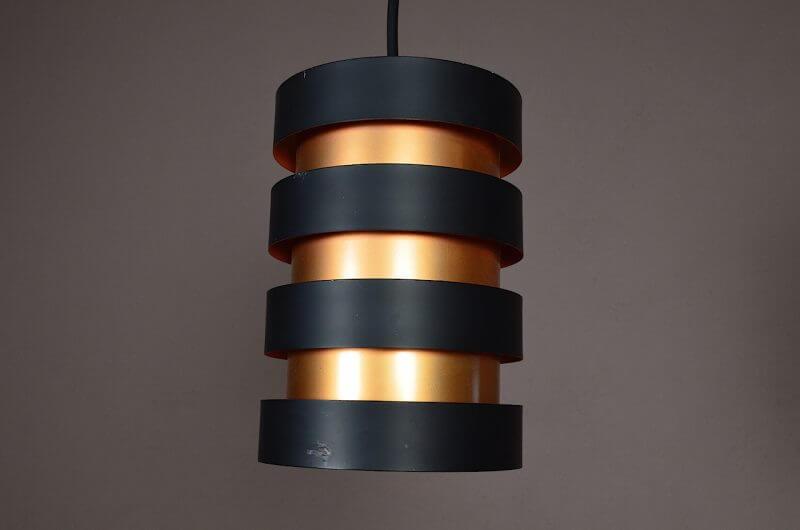 suspension scandinave jo hammeborg fog morup vintage 1960. Black Bedroom Furniture Sets. Home Design Ideas