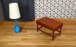 Table Basse Scandinave en Teck Torbjørn Afdal Vintage 1960