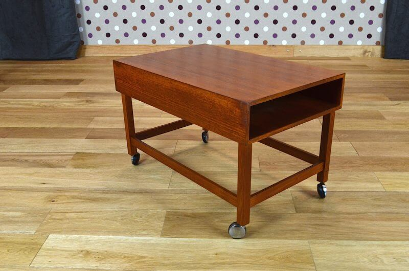 Table basse scandinave en teck torbj rn afdal vintage 1960 for Table scandinave en teck