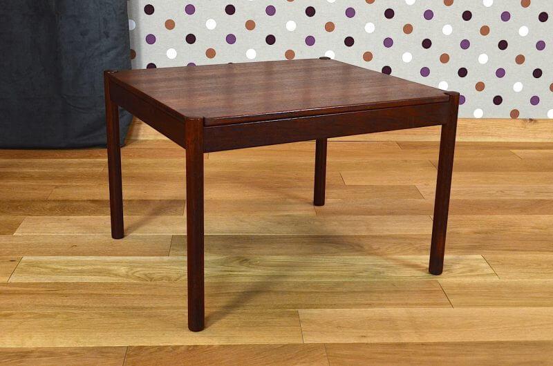 table basse scandinave teck vintage 1963 kai kristiansen 12 0658. Black Bedroom Furniture Sets. Home Design Ideas