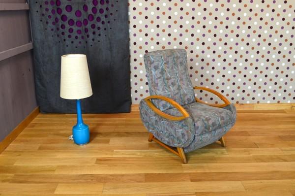 Fauteuil Relax Design Vintage Retro 1960