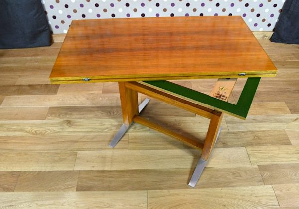 Table Transformable Design Vintage Wilhelm Renz 1960