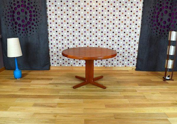 Table Design Scandinave en Teck H. Kjaernulf Vintage 1960