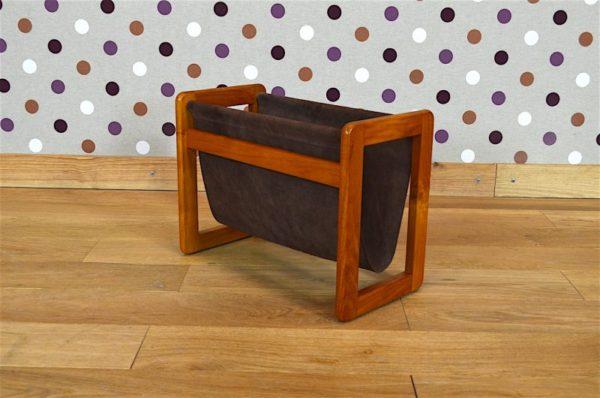 Porte-Revues Design Scandinave en Teck Aksel Kjersgaard Vintage 1960