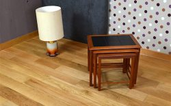 Tables Gigogne Design Scandinave en Teck Vintage 1970