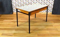 Bureau Design Vintage en Formica Années 1960