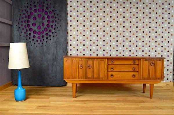 Enfilade Design Scandinave en Teck Vintage 1960 / 1970