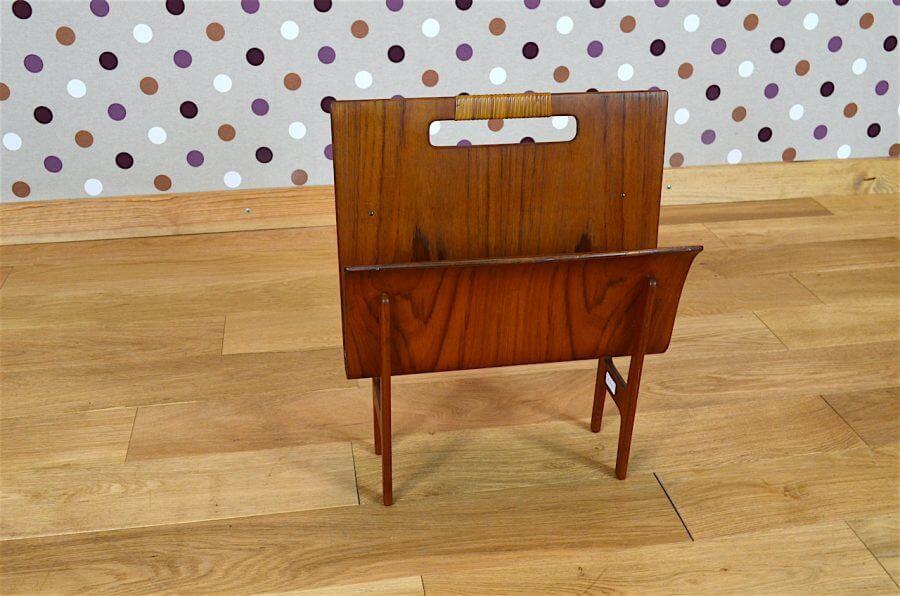 porte revues danois ejnar larsen aksel bender madsen vintage 1950. Black Bedroom Furniture Sets. Home Design Ideas