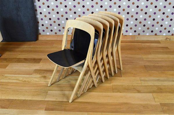 6 Chaises Pliantes Design Scandinave Carl-Johan Boman Vintage 1962