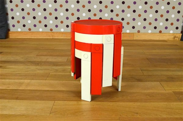 Tables Gigogne Design Scandinave Vintage 1970
