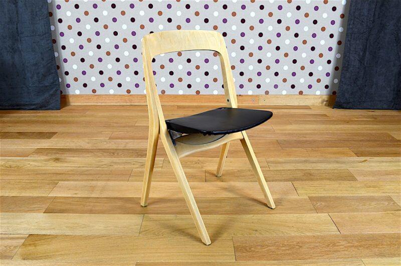 4 Chaises Pliantes Design Scandinave