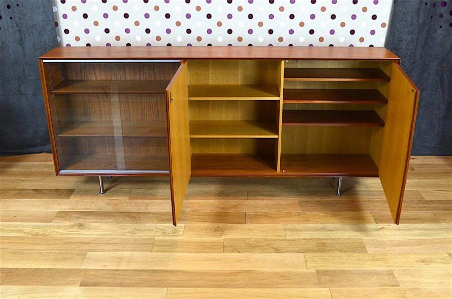 enfilade design scandinave oswald vermaercke vintage 1960. Black Bedroom Furniture Sets. Home Design Ideas