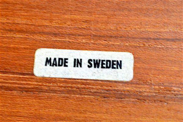 Desserte Design Scandinave en Teck Vintage 1960