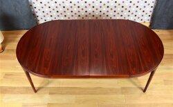 Table Danoise de Kofod Larsen en Palissandre de Rio Vintage 1960