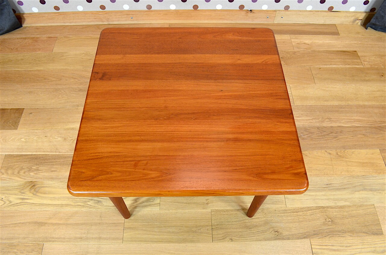 Table Basse Carr E Design Scandinave En Teck Vintage 1965 A1916 Design Vintage Avenue