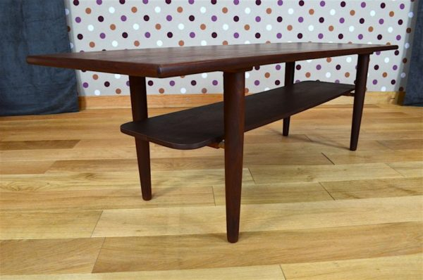 table salon vintage danois 1960