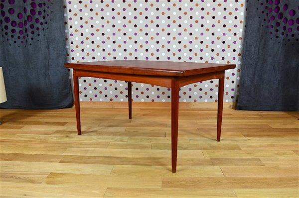 Table Design Scandinave en Teck Dyrlund Vintage 1960