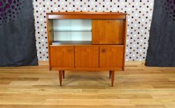 Meuble Design Scandinave en Teck Vintage 1965