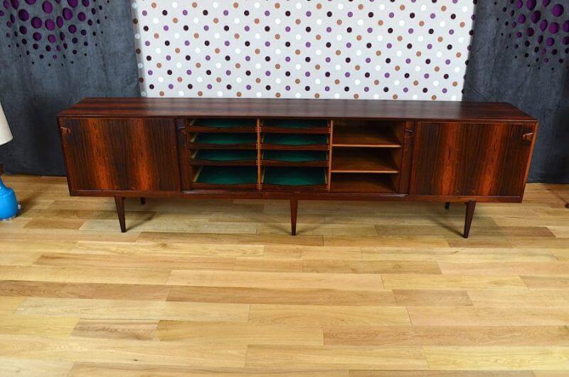 salle manger designers danois en palissandre de rio vintage 1960. Black Bedroom Furniture Sets. Home Design Ideas