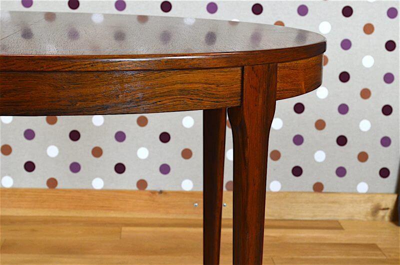 table design scandinave en palissandre de rio levitan vintage 1960 vendu. Black Bedroom Furniture Sets. Home Design Ideas