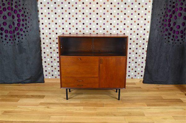 Meuble Haut Design Scandinave en Teck Vintage 1960